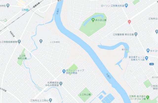 南大通大橋地図