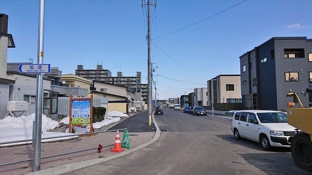 野幌駅南通未開通区間