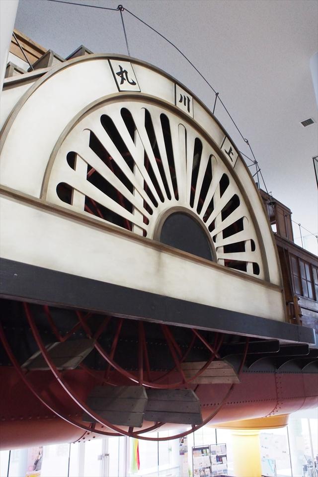 外輪船・水車