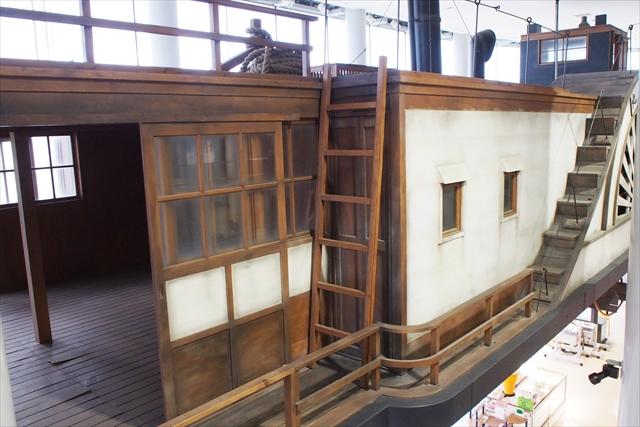 外輪船・階段とハシゴ