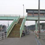 JR大麻駅・跨線橋