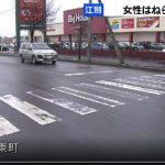 ビッグハウス野幌店交通事故
