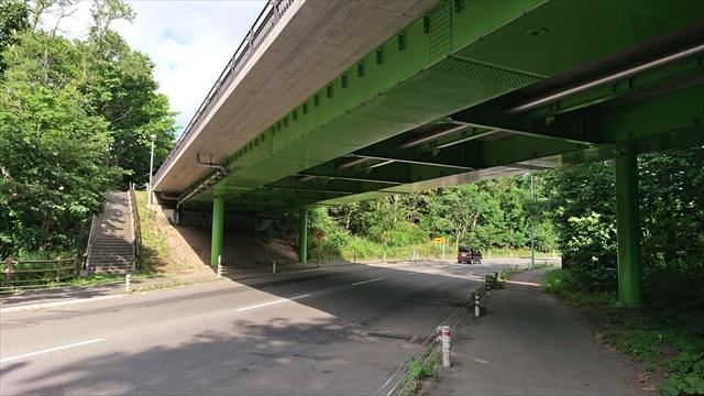 つつみ橋(鉄西線)下部