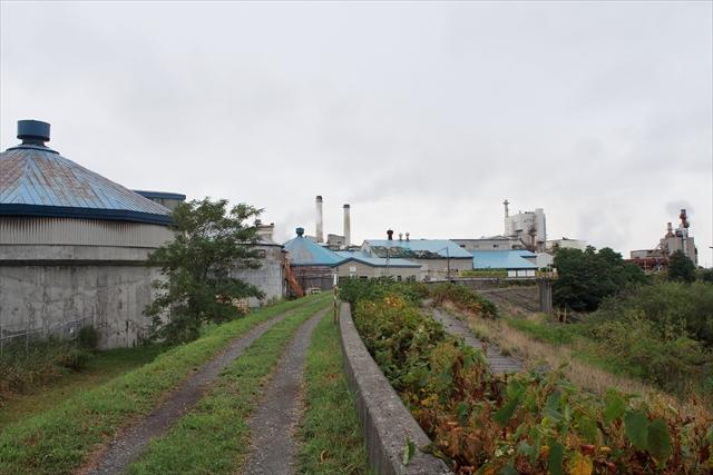王子エフテックス江別工場 旧王子製紙工場