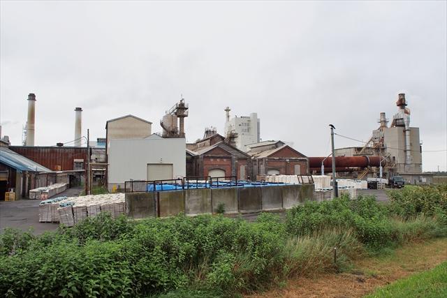 工場内に残る歴史的建造物