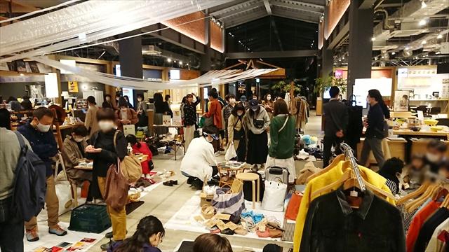 江別蔦屋書店フリーマーケット