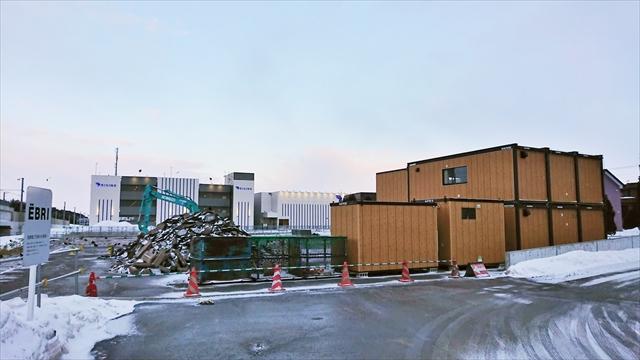 アイバ江別(Aiba江別)移転建設予定地