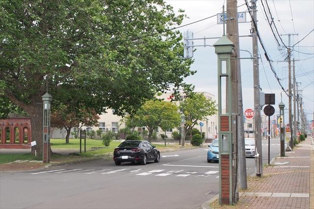 江別駅前れんがギャラリー街路灯