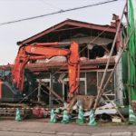 株式会社藪食品 店舗撤去工事中
