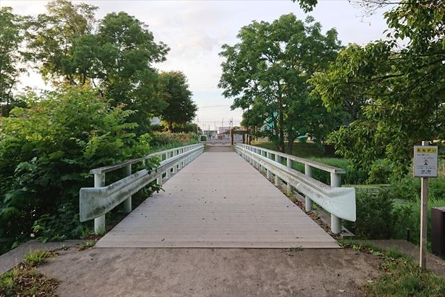 泉の沼公園内ガーダー橋(南)
