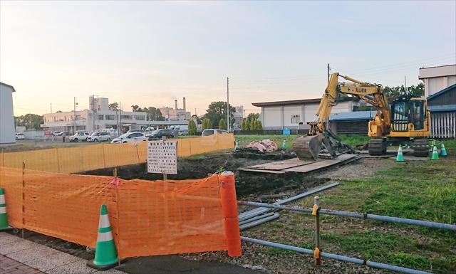 本町通り事務所建物撤去後