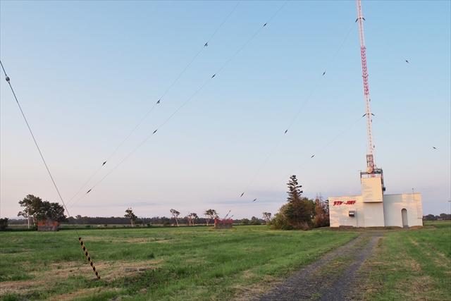 STV札幌ラジオ送信所と周辺風景